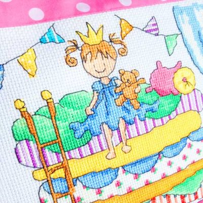 Princess cross stitch patterns by Lucie Heaton Cross Stitch Designs
