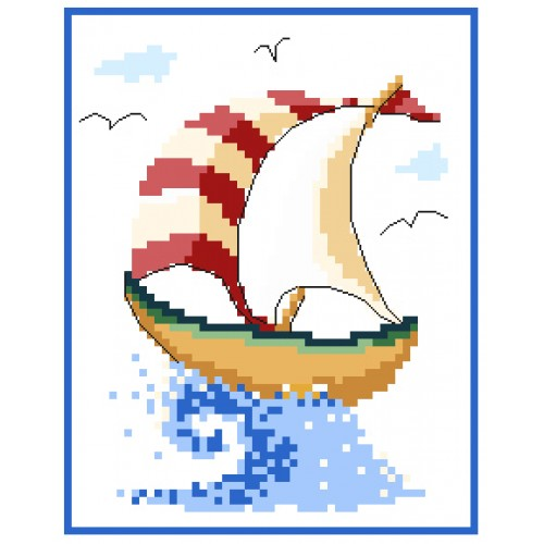 Nautical cross stitch patterns by Lucie Heaton Cross Stitch Designs