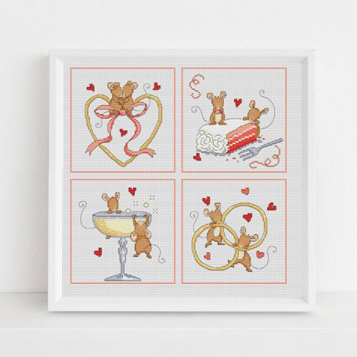 Special occasions cross stitch patterns by Lucie Heaton Cross Stitch Designs