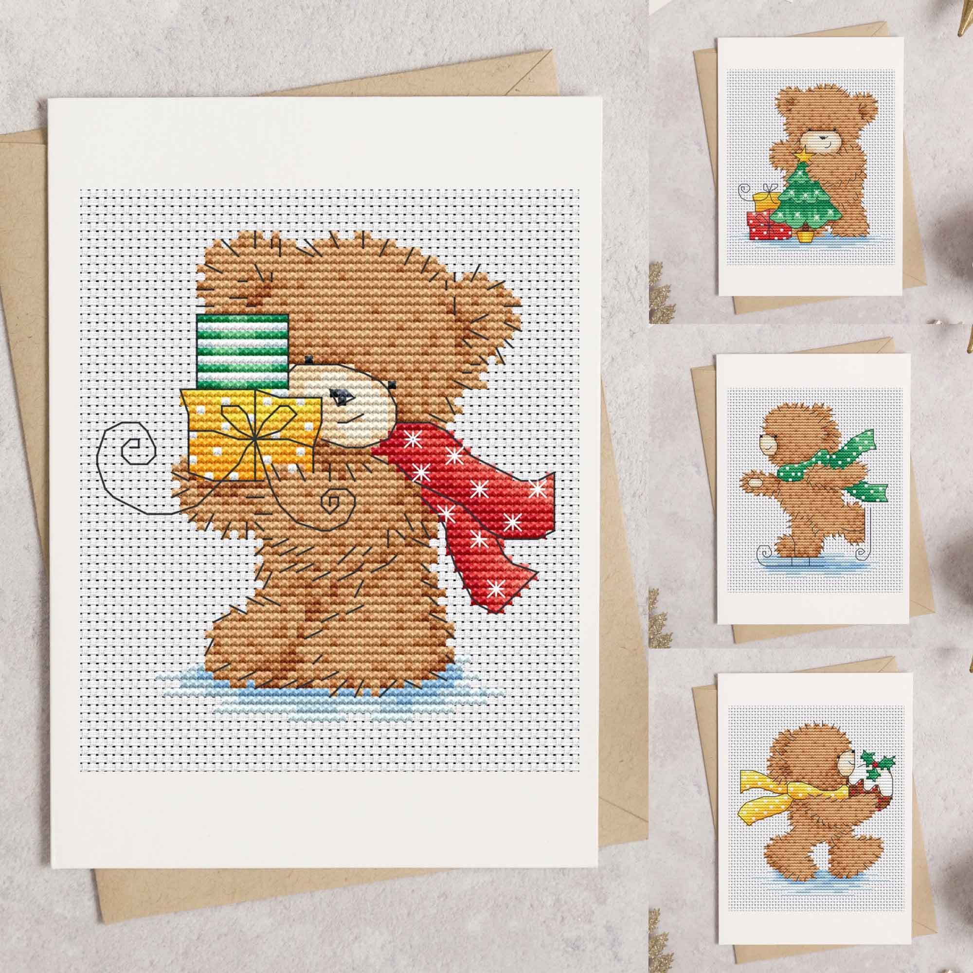 Christmas cross stitch pattern downloads by Lucie Heaton Cross Stitch Designs