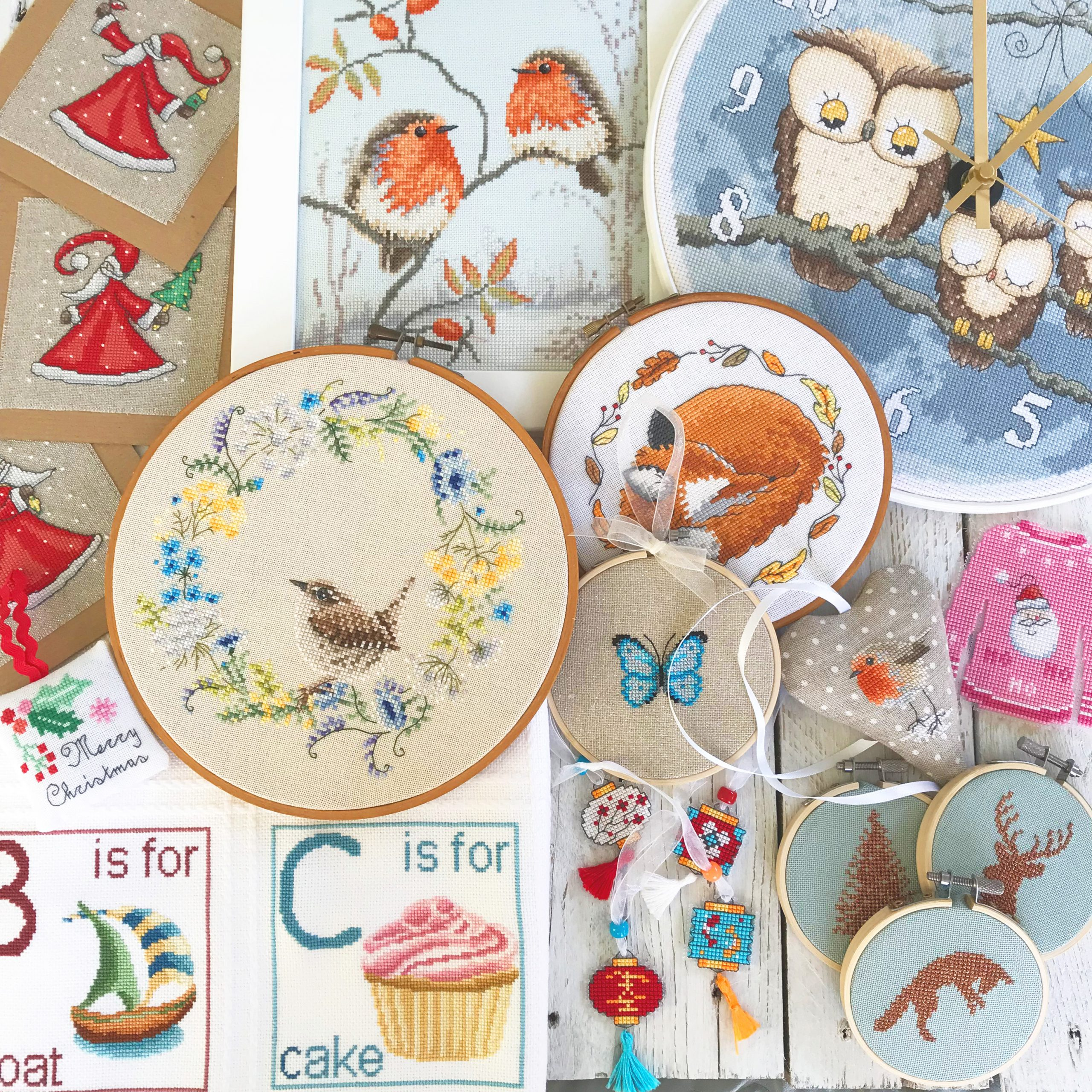 Latest cross stitch designs by Lucie Heaton Cross Stitch Designs